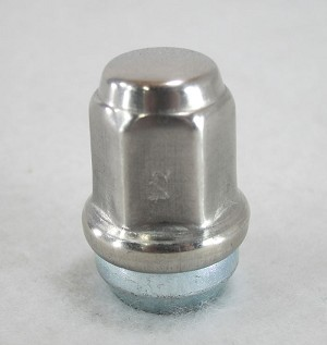 Stainless Steel Trailer Wheel Lug Nuts (Capped) - Mr. Lug Nut