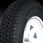 5.70-8 in Super Trail Bias Ply Trailer Tire LR B