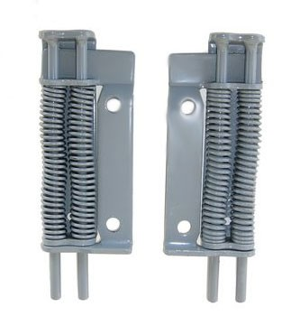 Titan/Dico Model 10/20, Left & Right Cylinder Brackets/Overload Springs #0838800_0838900