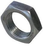 "Trailer Axle Spindle Nut for D Shape Spindles 13/16""-20 #32414"