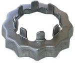 "3/4"" Axle Nut Retainer for D-style spindle w/o cotter pin hole #32418"