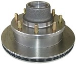UFP DB-35 8-Lug Hub & Stainless Steel Rotor Assembly #42050