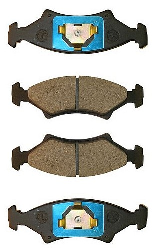 UFP DB-35 Disc Brake Pad Complete AXLE Set #33008