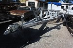 Used 2001 Performance Aluminum Boat Trailer, fits 26 ft Cat Tunnel Hull Boat.
