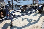 Used 2001 Four Winns Boat Trailer in Blue, fits 24 ft Boat includes fit up.