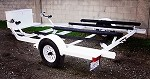 SOLD! Used 2007 Zieman 2-Place PWC (Personal Watercraft) Trailer For Sale