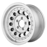16 x 7 Aluminum Mod Trailer Wheel with Rivets (8-Lug)