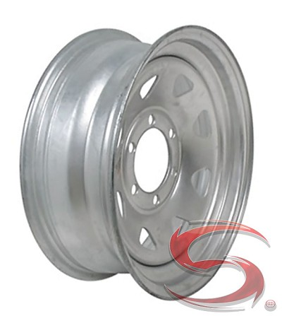 16 x 6 Galvanized Spoke Trailer Wheel, 6 on 5.50, 3740 lb Capacity