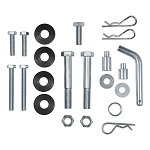CURT Weight Distribution Replacement Hardware, Trunnion Spring Bar Head Unit Bolts, Kit #17350