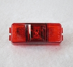 LED side marker/clearance trailer light Red, Red Lens #204-4400