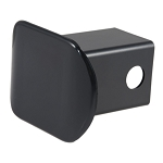 CURT Plastic Hitch Receiver Tube Cover Black #22180