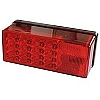 "WATERPROOF LED OVER 80"" 3X8 LOW PROFILE TAIL LIGHTS by Wesbar Left Hand/Roadside"