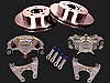 10 inch Kodiak Stainless Steel Slip Over Disc Brake Conversion Kit 5 on 4.5  2/RCM-10-SS-KIT