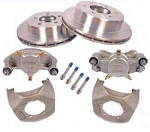 Kodiak Disc Brake Kit 12 in Rotor, 6 on 5-1/2 in, All Stainless Steel (SS) 5,200 lb to 6,000 lb