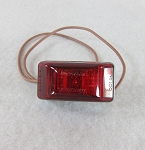 Wesbar Red Waterproof LED Marker/Clearance Light 401566