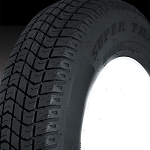4.80-12 Tread Star Bias Ply Trailer Tire, Load Range C, 990 lb Max Load