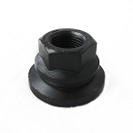 Flange Nut - 5/8-18 in - Black - #5058