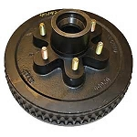 Trailer Brake Hub Drum 12 in HD 6 x 5.50 - 6000 lb #BD655-17