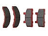 KODIAK 7k-8k DISC Ceramic Friction Pads, (2-pair) DBC-250-CRM-PAD