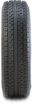 ST215/75R14 LR C HERCULES POWER ST2 Radial Trailer Tire, 1870 lb Load Capacity
