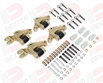 Dexter K71-657-00 - Complete E-Z FLEX Suspension kit for Triple axle trailers #K71-657-00