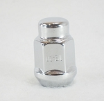 1/2 - 20 in Bulge Acorn Chrome Trailer Wheel Lug Nut