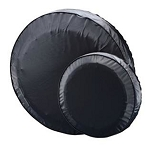 13 in Shipshape #27420 Spare Tire Cover, Black