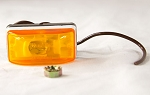 Wesbar 203233 Waterproof Combination Clearance / Marker Light, Amber