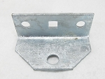 Swivel Top Angle Bracket, Galvanized, #86115G for Mounting Boat Trailer Bunk Boards to Bolster Brackets