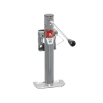 "Weld-On Jack, Sidewind, 10 inch Travel, Weld-On ""L"" Bend Swivel Bracket, 2,000 lb Lift Capacity #151101"