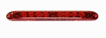 Slimline Identification Bar, Red with Red Lens 251-4400