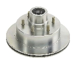 Hub/Rotor Assembly 5.2K DB-42 6x5.5 Zinc Plated 008-450-06 (36239)