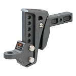 Curt Rebellion XD Adjustable Cushion Hitch Ball Mount (2