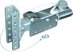 Titan Model 6, 5-Position Adjustable-Channel Brake Actuator, Zinc Plated, Drum, Bolt On - 8,000 lb
