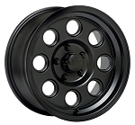 15x6 Yuma Matte Black Aluminum Trailer Wheel 5x4.5 908B561235