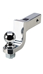 Aluminum Trailer Hitch Ball Mount, 1