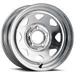 15x6 Galvanized Spoke Trailer Wheel  6x5.5 Lug