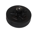 Dexter Axle Trailer Brake Hub and Drum, 10 in,  5 on 4.5 - 3,500 lb Cupped and Studded