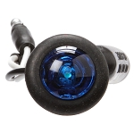 Truck-Lite 33 Series, LED, 1 Diode, Round Blue, Auxiliary Light, Black Grommet Mount, Hardwired #33065B