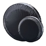 12 in Shipshape #27410 Heavy Duty Spare Tire Cover, Black