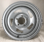 14x6 Silver Steel Blade No Rivet Trailer Wheel 5x4.5