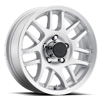 15x6 T15 Aluminum Trailer Wheel 5x5.0, 2150 lb Capacity
