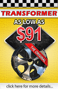Transformer Aluminum Trailer Wheels - Lowest Prices Guaranteed!