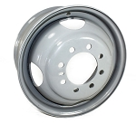 16.5X6.75 Dual Trailer Wheel 8x6.50 Bolt Pattern 3530lb Capacity #17-157HD