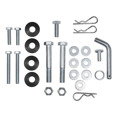 CURT Weight Distribution Replacement Hardware, Round Spring Bar Head Unit Bolts, Kit #17150