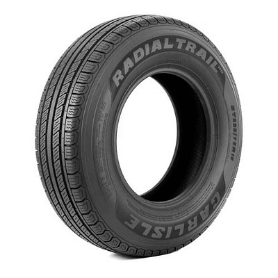 ST175/80R13 LR C Carlisle Radial Trail HD Trailer Tire 1,360 lb Capacity