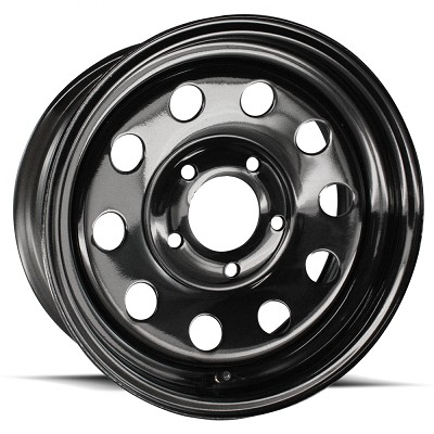 14x6 Black Steel Modular Trailer Wheel 5x4.5  2746012-33146