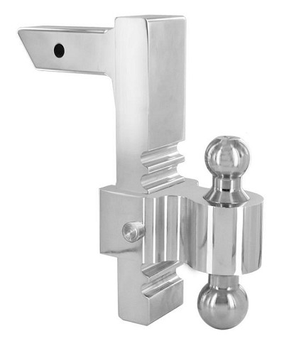 "3413 Rapid Hitch, 10"" Adjustable Drop w/ 2"" x 2-5/16"" Combo Ball"