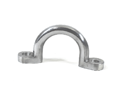 Polished Aluminum Tie Down Bracket