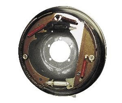 Titan 12 in Galphorite Free-Backing Hydraulic Trailer Brake Assembly - Left Hand 023-580-00